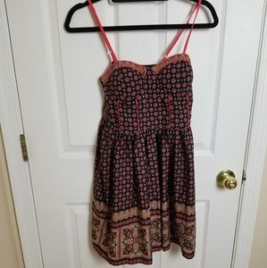 Band of Gypsies size M fit & flare bustier dress